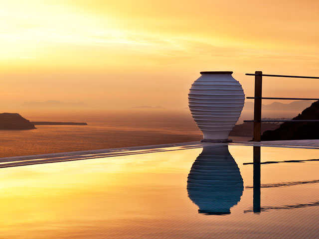 Homeric Poems - Sunset at Pool