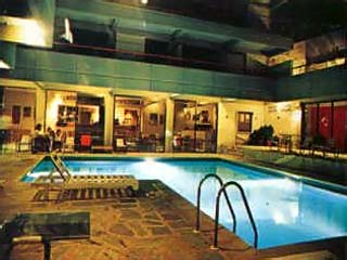 Apollonia Hotel ApartmentsSwimming Pool at night