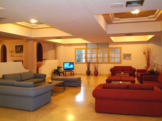 Santorini Image Hotel: TV Room