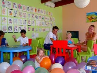 Santorini Image Hotel: Mini Club