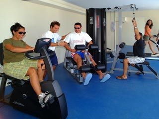 Santorini Image Hotel: Gym