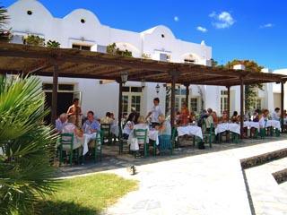 Santorini Image Hotel: Restaurant