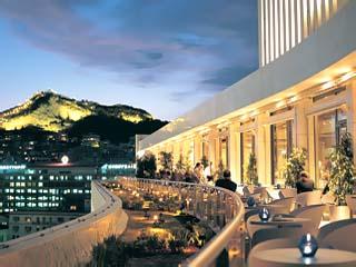 Athens Hilton HotelGalaxy terrace