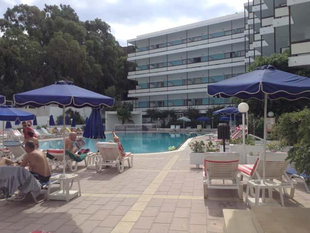 Belair Beach Hotel  Stars Ixia Rhodes Greece