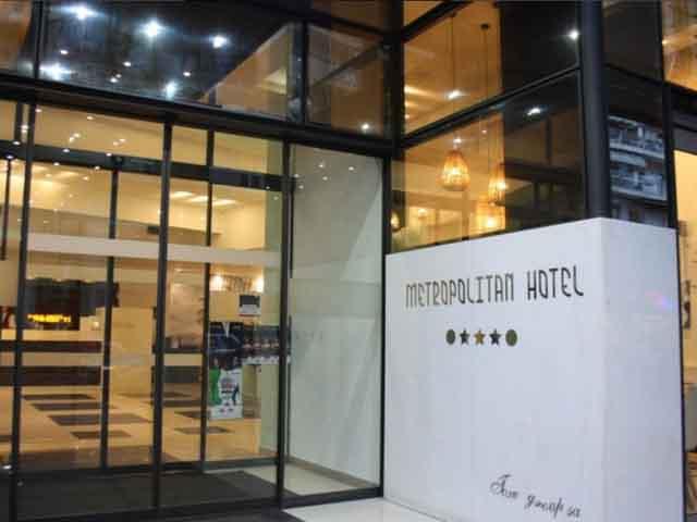 Book Now: Metropolitan Hotel