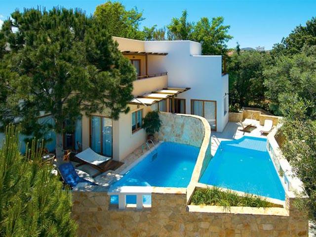 Sirios village luxury hotel bungalows hotels daratso for Design hotel crete