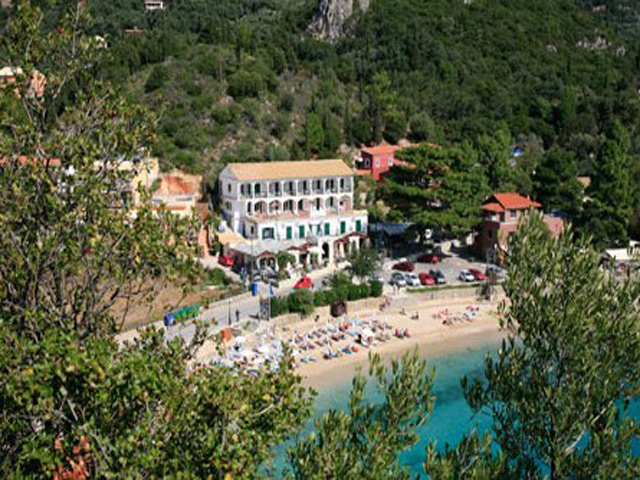 Apollon hotel and annex hotels paleokastritsa corfu for Apollon greek and european cuisine