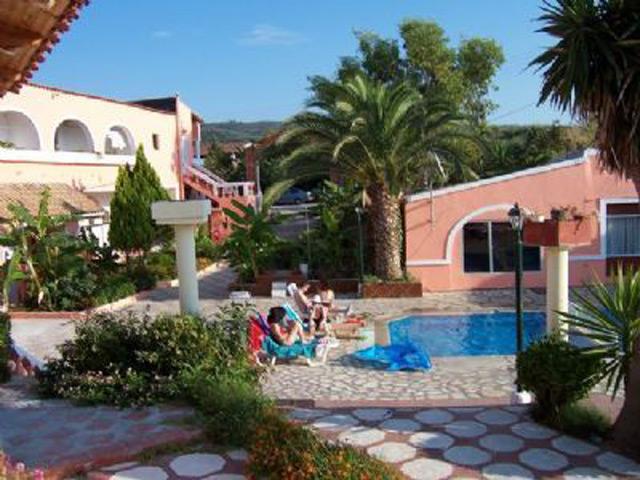 Tsonas Apartments Hotels Roda Corfu Kerkyra Ionian