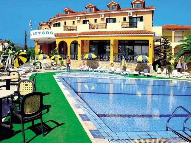 Letsos Hotel Zante Reviews