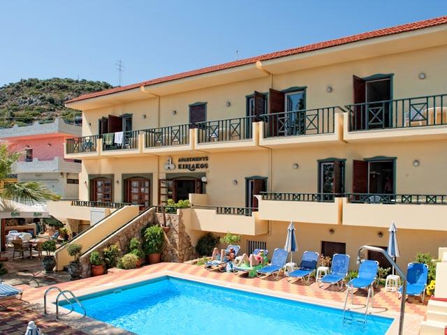 Kiriakos apartments hotels stalis heraklion crete greece for Blue sea motor inn