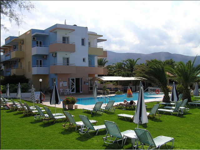 Silver sun hotels malia heraklion crete greece for Blue sea motor inn