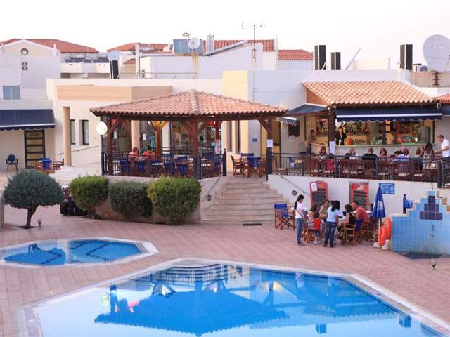 Blue aegean hotel hotels gouves heraklion crete greece for Blue sea motor inn