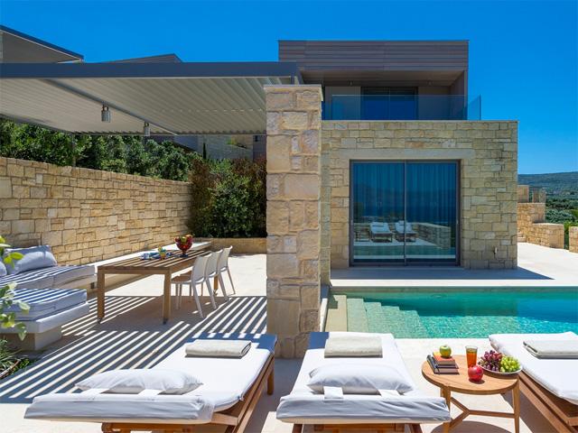 Villa Oneiro  Hotels Kissamos  Chania  Crete  Greece