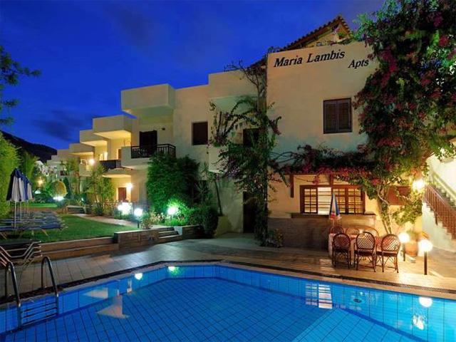 Maria lambis apartments hotels stalis heraklion crete for Blue sea motor inn