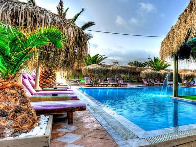 Joy Beach Hotel Hotels Perivolos Santorini Cyclades