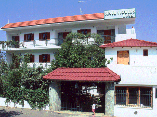 Seven flowers hotels stalis heraklion crete greece for Blue sea motor inn
