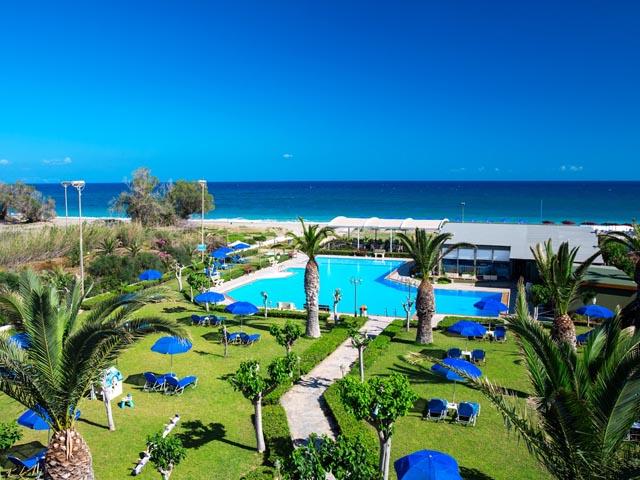 Marinos Beach Hotel  Hotels Platan U00e9s  Rethymnon  Crete  Greece