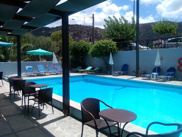 Elvira hotel hotels stalis heraklion crete greece for Blue sea motor inn