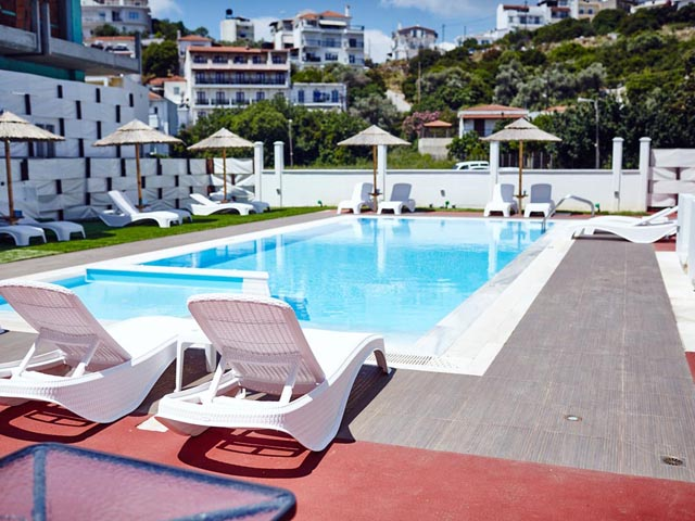 Skiathos town hotels special offers discounted rates for Skiathos town hotels