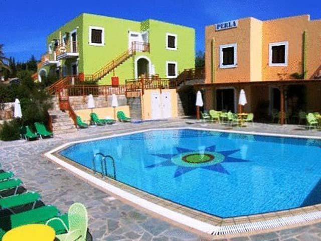 Perla apartments hotels agia pelagia heraklion crete for Blue sea motor inn
