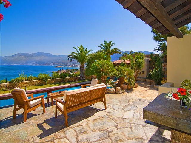 Aegean blue villa hotels hersonissos heraklion crete for Blue sea motor inn