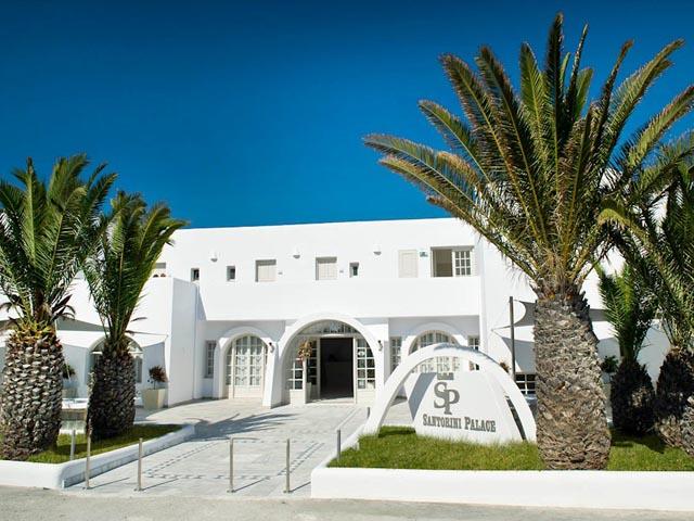Book Now: Santorini Palace