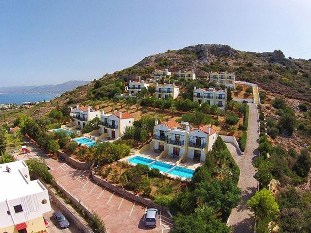 Golden villas hotels hersonissos heraklion crete greece for Blue sea motor inn